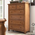 Homelegance 395 Chest of Drawers - Item Number: 395B-9AK