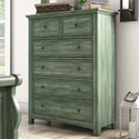 Homelegance 395 Chest of Drawers - Item Number: 395B-9AQ