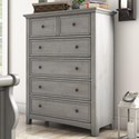 Homelegance 395 Chest of Drawers - Item Number: 395B-9GA