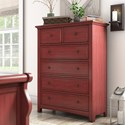 Homelegance 395 Chest of Drawers - Item Number: 395B-9RD