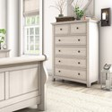 Homelegance 395 Chest of Drawers - Item Number: 395B-9WH