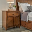 Homelegance 395 Night Stand - Item Number: 395B-C4AK