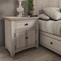 Homelegance 395 Night Stand - Item Number: 395B-C4WH