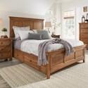 Homelegance 395 Queen Panel Bed  - Item Number: 395BQ-1AK+2AK+3PLAK+3SRAK