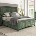 Homelegance 395 Queen Panel Bed  - Item Number: 395BQ-1AQ+2AQ+3PLAQ+3SRAQ