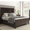 Homelegance 395 Queen Panel Bed - Item Number: 395BQ-1BK+2BK+3BK