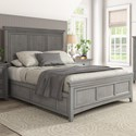 Homelegance 395 Queen Panel Bed - Item Number: 395BQ-1GA+2GA+3GA