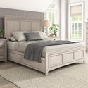 Homelegance 395 Queen Panel Bed - Item Number: 395BQ-1WH+2WH+3WH