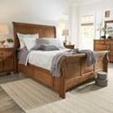 Homelegance 395 Queen Sleigh Bed - Item Number: 395BQSL-1AK+2AK+3AK