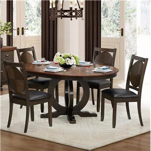Homelegance 5111 5 Piece Dining Set