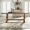 Homelegance 530 Rectangular Dining Table - Item Number: 530-78AK+78BAK
