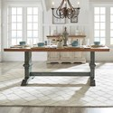 Homelegance 530 Rectangular Dining Table - Item Number: 530-78AK+78BAQ