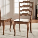 Homelegance 530 Dining Side Chair - Item Number: 530C1-AK