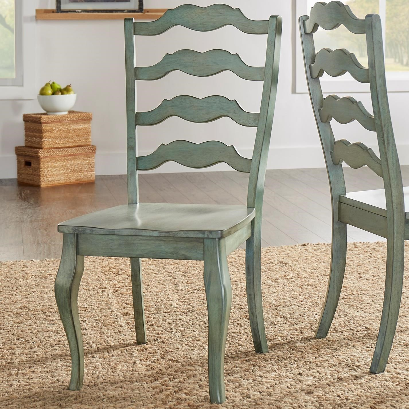 Homelegance 530 Dining Side Chair - Item Number: 530C1-AQ