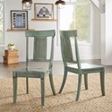 Homelegance 530 Dining Side Chair with Panel Back