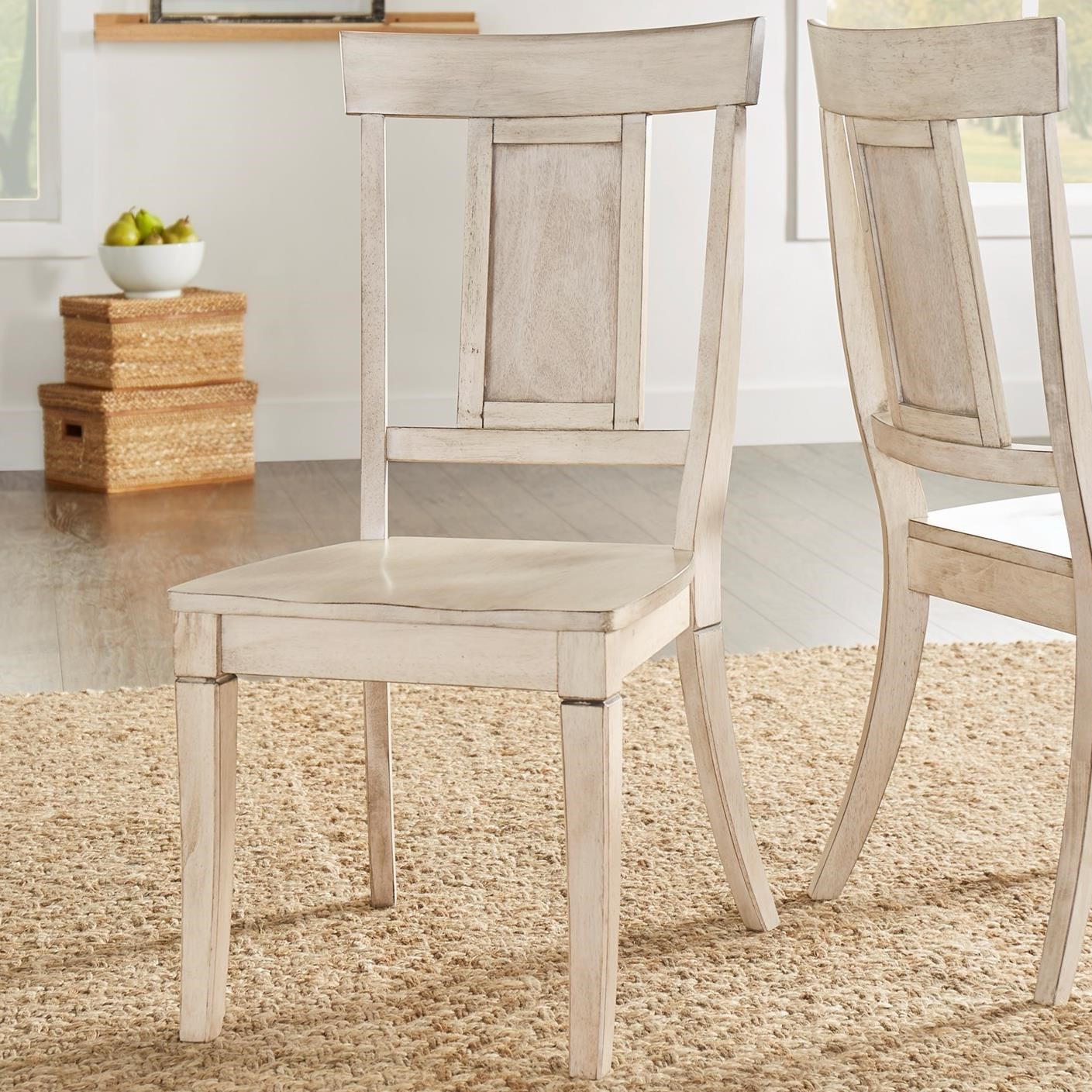 Homelegance 530 Dining Side Chair - Item Number: 530C2-WH
