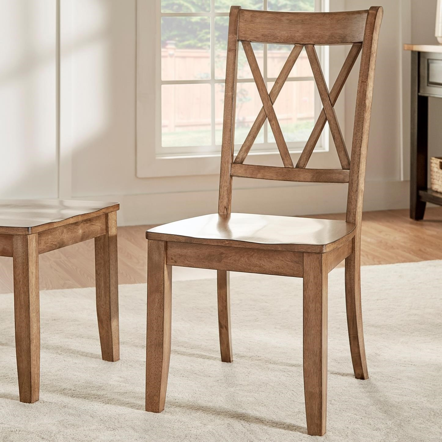 Homelegance 530 Dining Side Chair - Item Number: 530C3-AK