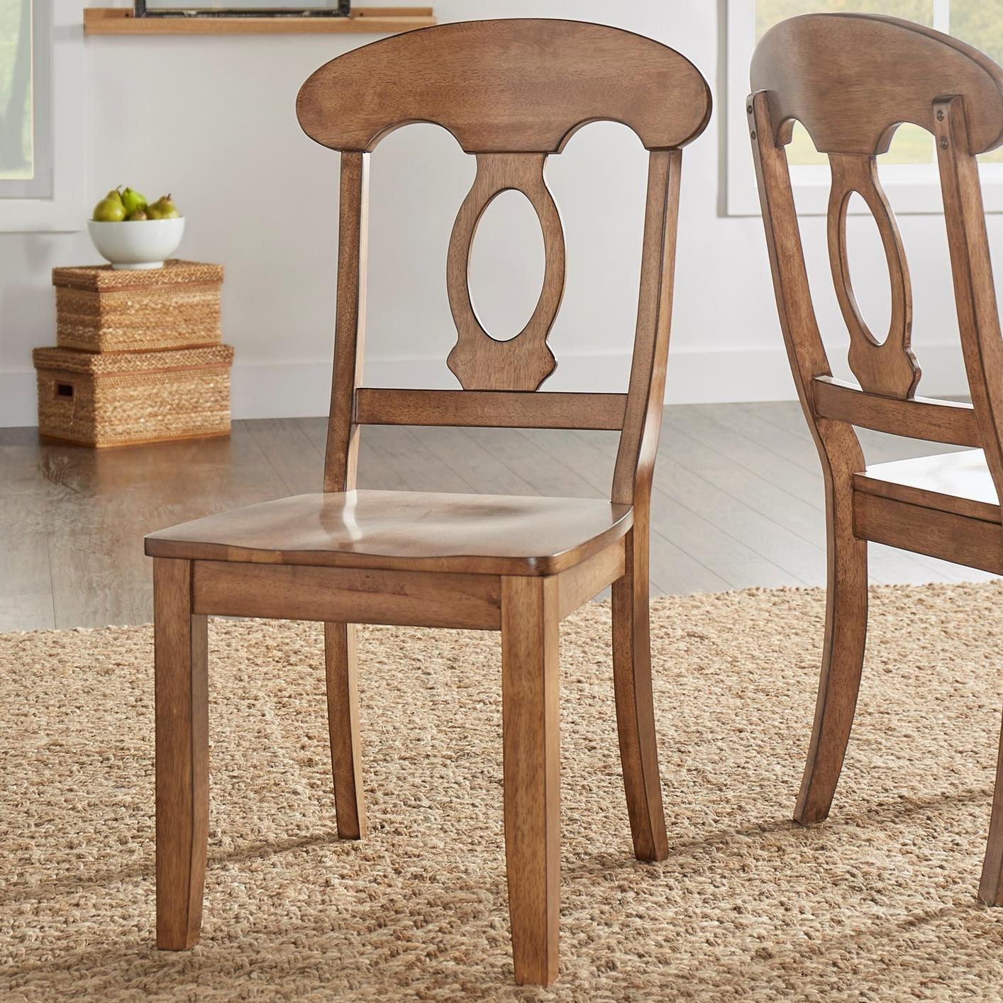 Homelegance 530 Dining Side Chair - Item Number: 530C4-AK