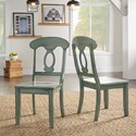 Homelegance 530 Dining Side Chair with Napoleon Back