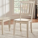 Homelegance 530 Dining Side Chair - Item Number: 530C5-WH