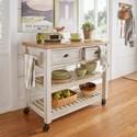 Homelegance 531 Kitchen Cart - Item Number: 531-07BW+07AK