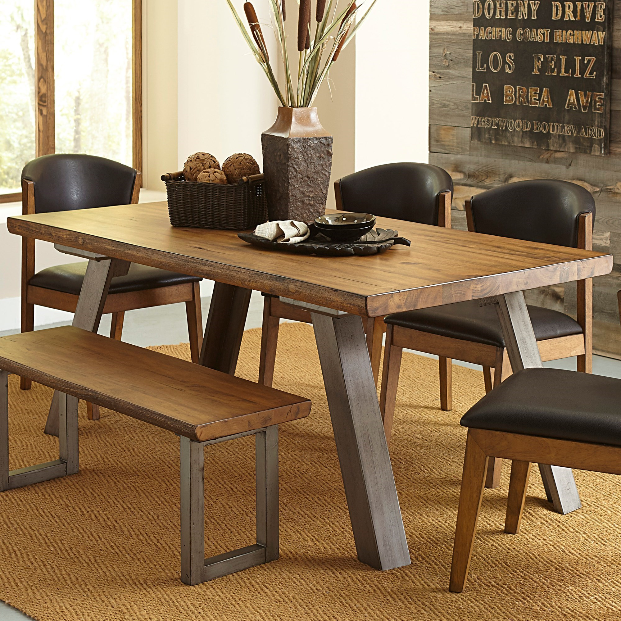 Homelegance 5478 Dining Table - Item Number: 5478-72