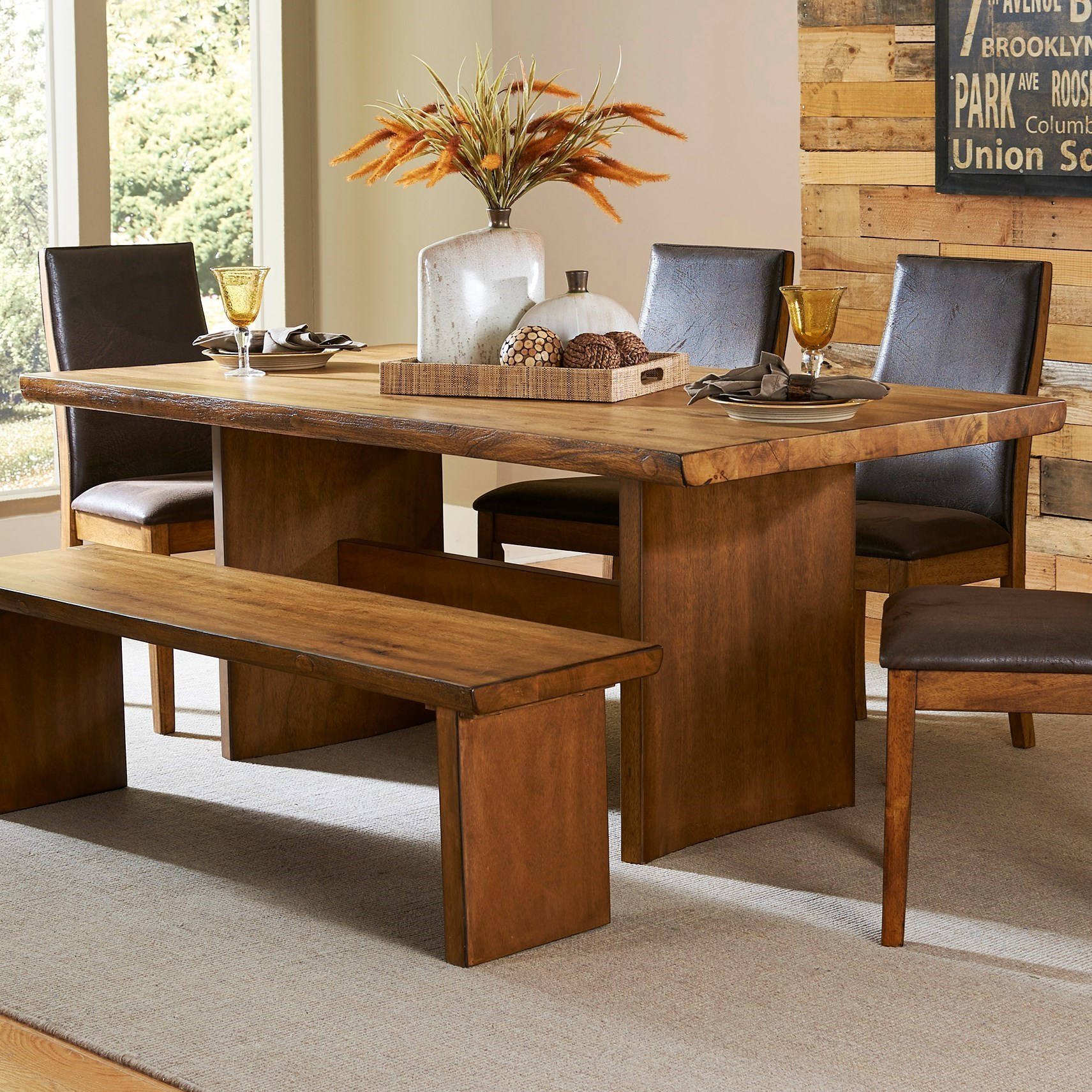 Homelegance 5479 Dining Table - Item Number: 5479-72