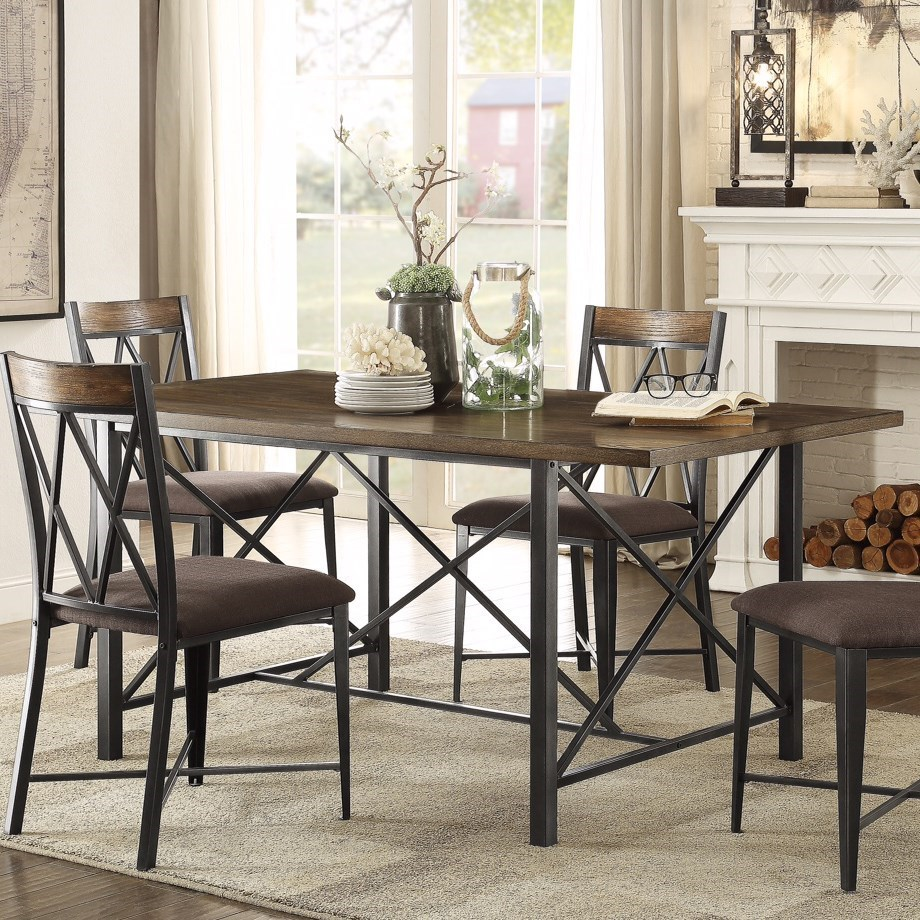 Homelegance 5512 Contemporary Dining Table - Item Number: 5512-66