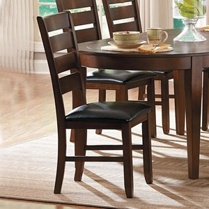Homelegance Ameillia Ladder Back Side Chair