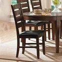 Homelegance Ameillia Ladder Back Side Chair  - Item Number: 586S
