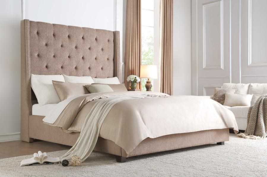 Fairborn Queen Platform Bed by Homelegance at Dream Home Interiors