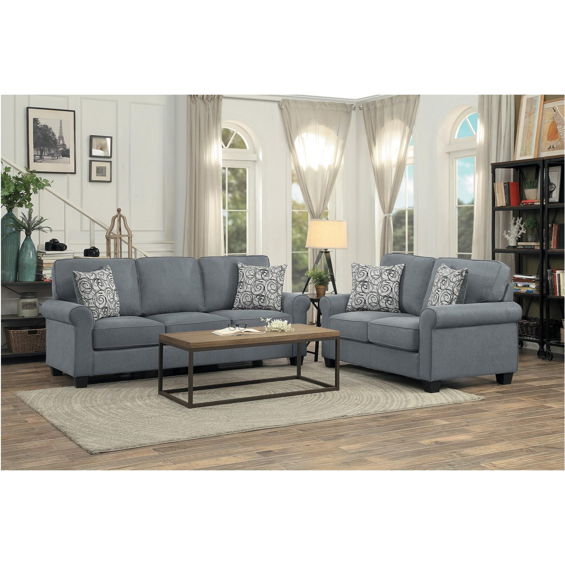 Selkirk Living Room Group by Homelegance at A1 Furniture & Mattress