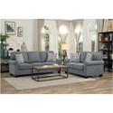 Homelegance Selkirk Living Room Group - Item Number: 9938GY Living Room Group 2