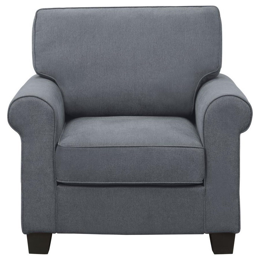 Selkirk Upholstered Chair by Homelegance at Nassau Furniture and Mattress