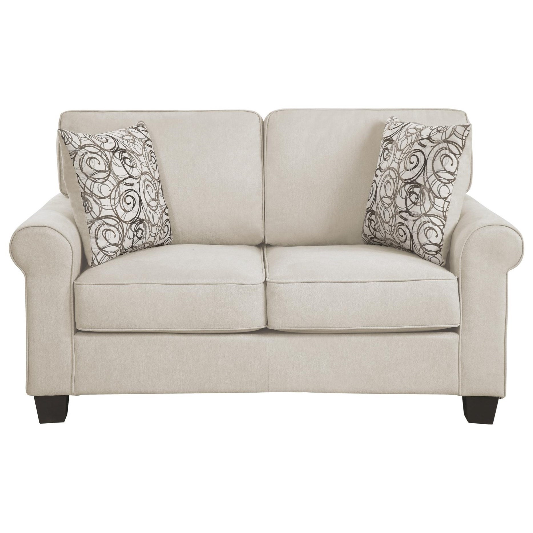 Selkirk Love Seat by Homelegance at Nassau Furniture and Mattress