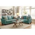 Homelegance Adair Living Room Group - Item Number: 8413TL Living Room Group 2
