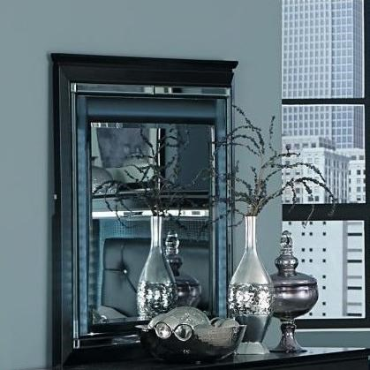 Homelegance Allura Mirror - Item Number: 1916BK-6