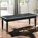 Homelegance Allura Bench - Item Number: 1916BK-FBH
