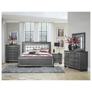 Homelegance Allura Queen Bedroom Group