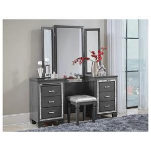 Homelegance Allura Vanity Dresser