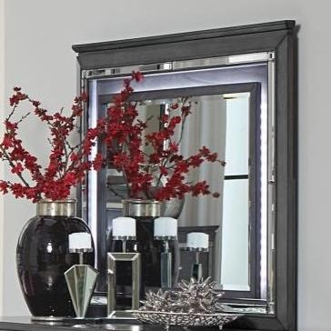 Allura Mirror by Homelegance at Carolina Direct