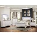 Homelegance Alonza King Lit Bedroom Group - Item Number: 1845 K Bedroom Group