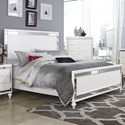 Homelegance Alonza Cal King Bed - Item Number: 1845-K1+K2+3