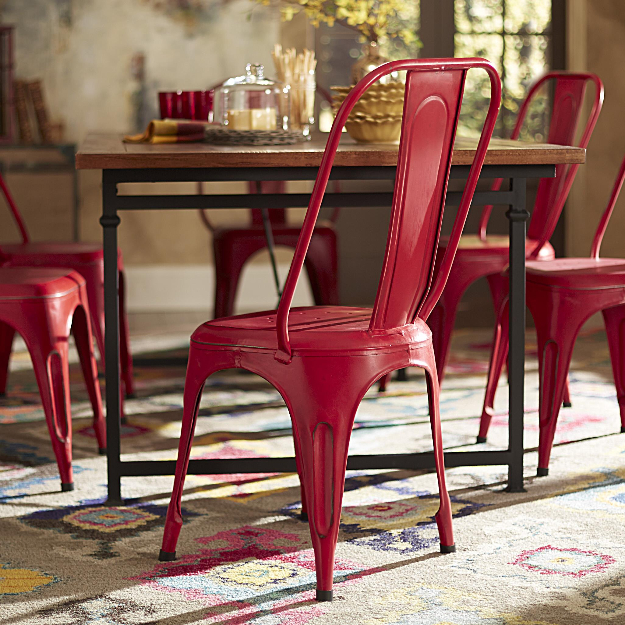 Homelegance Amara Metal Side Chair - Item Number: 5034REDS