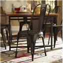 Homelegance Amara Metal Side Chair - Item Number: 5034RUTS