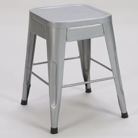 "Homelegance Amara Modern 18"" Metal Bar Stool - Item Number: 5035-18-SVE"