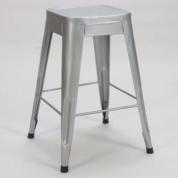 "Homelegance Amara Modern 24"" Metal Bar Stool - Item Number: 5035-24-SVE"