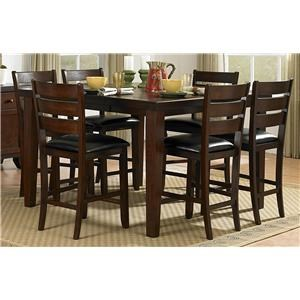 Homelegance Ameillia 5 Piece Counter Height Dining Set