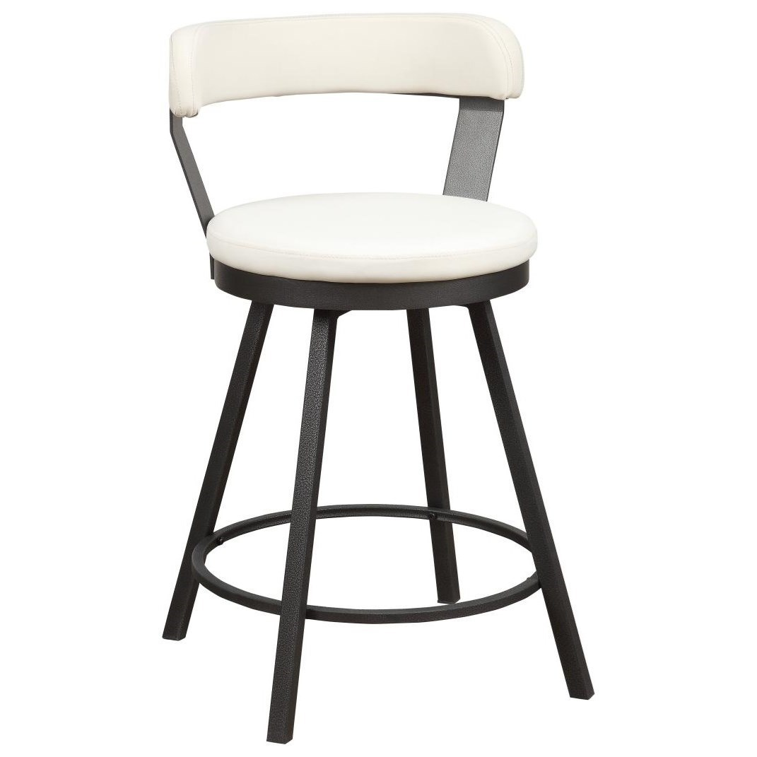 Appert Swivel Counter Height Chair by Homelegance at Simply Home by Lindy's