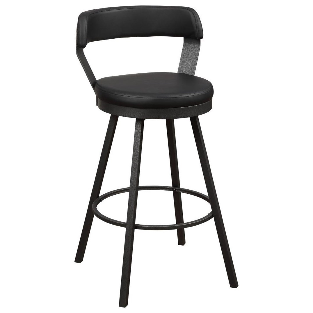 swivel bar height bar stool